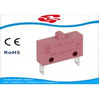 Quality 10A 5A 250V AC Electrical Micro Switches , Push Button Electric Switch SPST Type wholesale