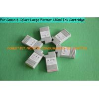 China Compatible R G B PM 130ml Canon Printer Ink Cartridges , Canon IPF510 Ink Cartridge on sale