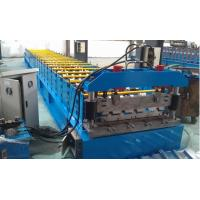 Quality IBR 686 Roof Profile Roll Forming Machine 0.3mm - 0.8mm Thickness wholesale