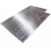 Quality Diamond Pattern Five Bar Pattern Aluminum Checkered Plate Used For Truck Floor wholesale