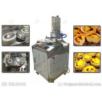 Customized Egg Tart Making Machine Stainless Steel Single Phase With Tart Shell