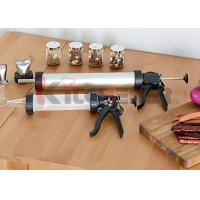 Quality Two Nozzle Plastic Jerky Blaster Non Corrosive Tube With Heavy Duty Drive / Handle wholesale