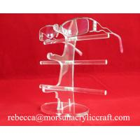 Quality Acrylic high quality glasses display rack / glasses holder/ plexiglass sunglasses stand wholesale
