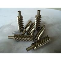 Quality 40Cr, 42CrMo steel alloy and brass precision helical worm gear for reducer wholesale