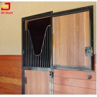 Quality Customized Horse Shower Dividing Horse Stall Panels Wooden Bamboo Infill wholesale