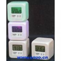 China Novel and Multifunctional LCD Clock with FM Scan Radio and magic lamp and stopwatch---EN6097 on sale