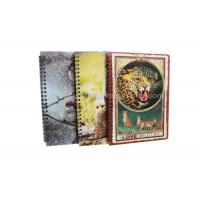 Quality Stationery Diary A4 Size Notebooks 3D Lenticular Cover Of Famous Views wholesale