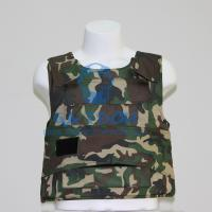 Quality olive green camouflage kevlar bulletproof vest body armor wholesale
