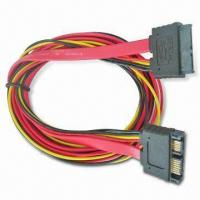 Quality SATA7+6 Cable Side to SATA7+6 PCB Side Cable with 1m Length wholesale