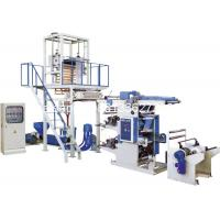 Quality High Speed Plastic Film Blowing Machine With Flexo Printing Press wholesale