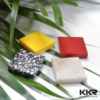 Quality Anti-yellowing White Artificial stone solid surface sheets wholesale