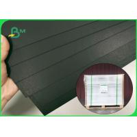 China Virgin Wood Pulp FSC 300g 400g Black Board 31'' * 43'' For Clothing Tags on sale