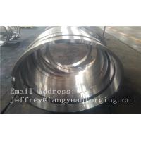 Quality 1.6981 21CrMoNiV4-7  Metal forged part  EN10269 Forged Rings wholesale