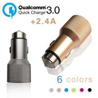 Quality Dual USB Car Charger QC 3.0 Universal USB Car Charger For Mobile Devices wholesale