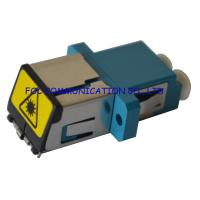 Quality LC Shuttered Type Fiber Optical Adapter Low Insertion Loss for FTTH networks wholesale