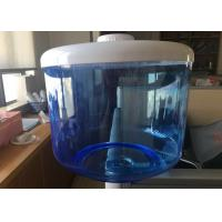 Quality Blue Translucent Filtered Water Dispenser , 8L Food Grade Flat PP Water Tank wholesale