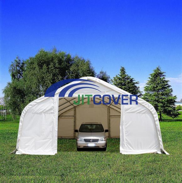 Fabric Garage Kits : Double car garage big gazebos fabric structure carport