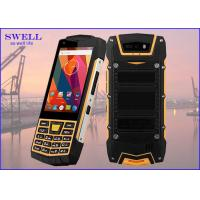 Buy cheap Dual Sim Rugged quad core SmartPhone , outdoor cell phone Rear 5.0MP Camera product