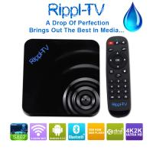 Quality Rippl-TV Full HD Media Player 2GB RAM+8GB ROM Support Wifi XBMC Amlogic S802 Mali-450 Android 4.4 Quad Core TV Box wholesale