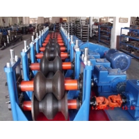 Quality Steel Two Waves 3.0mm Guardrail Roll Forming Machine wholesale