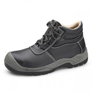 China Anti Smashing Waterproof Soft Toe Work Boots Barton Buffalo Leather Material on sale