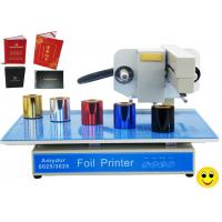 Quality 150w AMD-3025 Digital Hot Foil Printer , Foiling Machine For Cards / Certificates wholesale