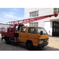 Quality Hydraulic Chuck Truck Mounted Portable Drilling Rigs For Blast Hole , Exploring Gas wholesale