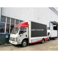 Quality Outdoor Full Color P4 P5 P6 Mobile Truck LED Screen Advertising Display wholesale