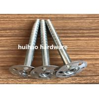 Cheap Galvanized Steel Rock Wool Insulation Anchor pins With 35mm Round Washer Base for sale