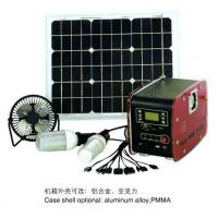 China Portable Solar Power System 20W DC Solar Power System with MP3 function on sale