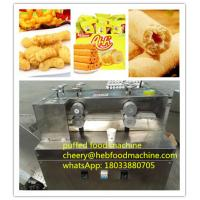 Quality professional food factory supplier automatic low cost  corn puffed snack food machine wholesale