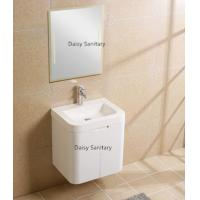 Quality Contemporary Commercial Wall Mount Bathroom Vanity With Solid Surface wholesale
