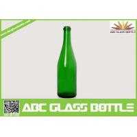 Cheap New design bottle of red wine green glass wine bottle 750ml with high quality for sale