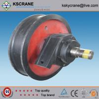 Quality Easy Operated Casting Single Flange Wheel In Crane wholesale