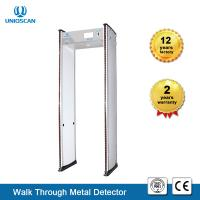 Quality Sensitivity Adjustable Walk Through Metal Detector 8KHz Frequency For Library / Hotel wholesale