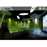 Quality Special Effect Large Curved Screen 5D Movie Theater Dynamic Chair wholesale