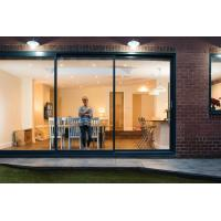 Cheap Multi Color Aluminium Sliding Glass Doors For Living Room With Security Bifold for sale