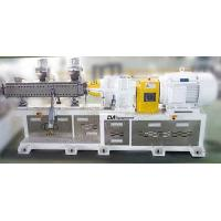 Quality Color Master Batch Plastic Compounding Line Conical Twin Screw Extruder wholesale