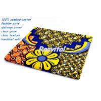 China 100% cotton real wax printed african fabric high quality low price custom made and wholesale Y328 on sale