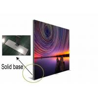 Quality Customized Double Sided Fabric LED Light Box Mitred Corner For Door Advertising wholesale