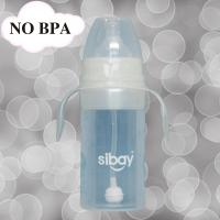 China 2oz vent design Skip proof Cute Silicone Baby Bottle flask nontoxic with IFGB ECO Friendly on sale
