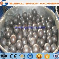 China alloyed high chrome grinding balls, hi cr grinding media mill cement balls on sale
