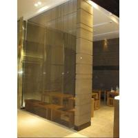 Quality Restaurant Dividers, Metal Mesh Dividers,;Dining Room Screen For Decorative wholesale