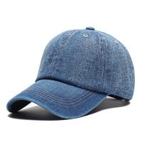 China Washed Cotton Twill Baseball Cap , Durable Plain Distressed Baseball Cap on sale