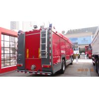 Quality 20CBM LHD 6X4 Fire Fighting Vehicles , Red Safety Emergency Foam Fire Truck  wholesale