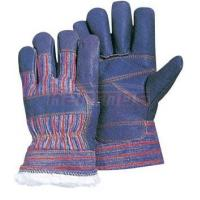 Quality 11 inch double palm man Furniture Winter Leather Gloves / Glove 31303 wholesale