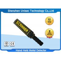 Quality High Sensitivity Hand Held Metal Detector With Audio / Vibration Alarm wholesale