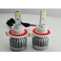 Quality Auto C1 H13 LED Headlight 9008 Fanless COB 30W 3000 Lumen Super Bright wholesale