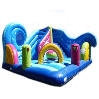Quality 5 In 1 Combi Air Sewing Pvc Inflatable Amusement Park With 1 Year Warranty wholesale