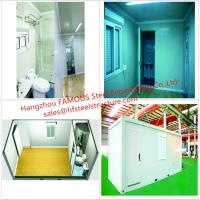 Quality Portable Prefab Container Homes With Interior Decorations  Bedroom/Bathroom/Kitchen/Washbasin wholesale